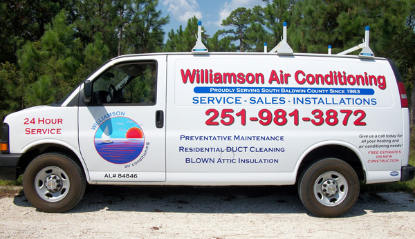 williamson air van